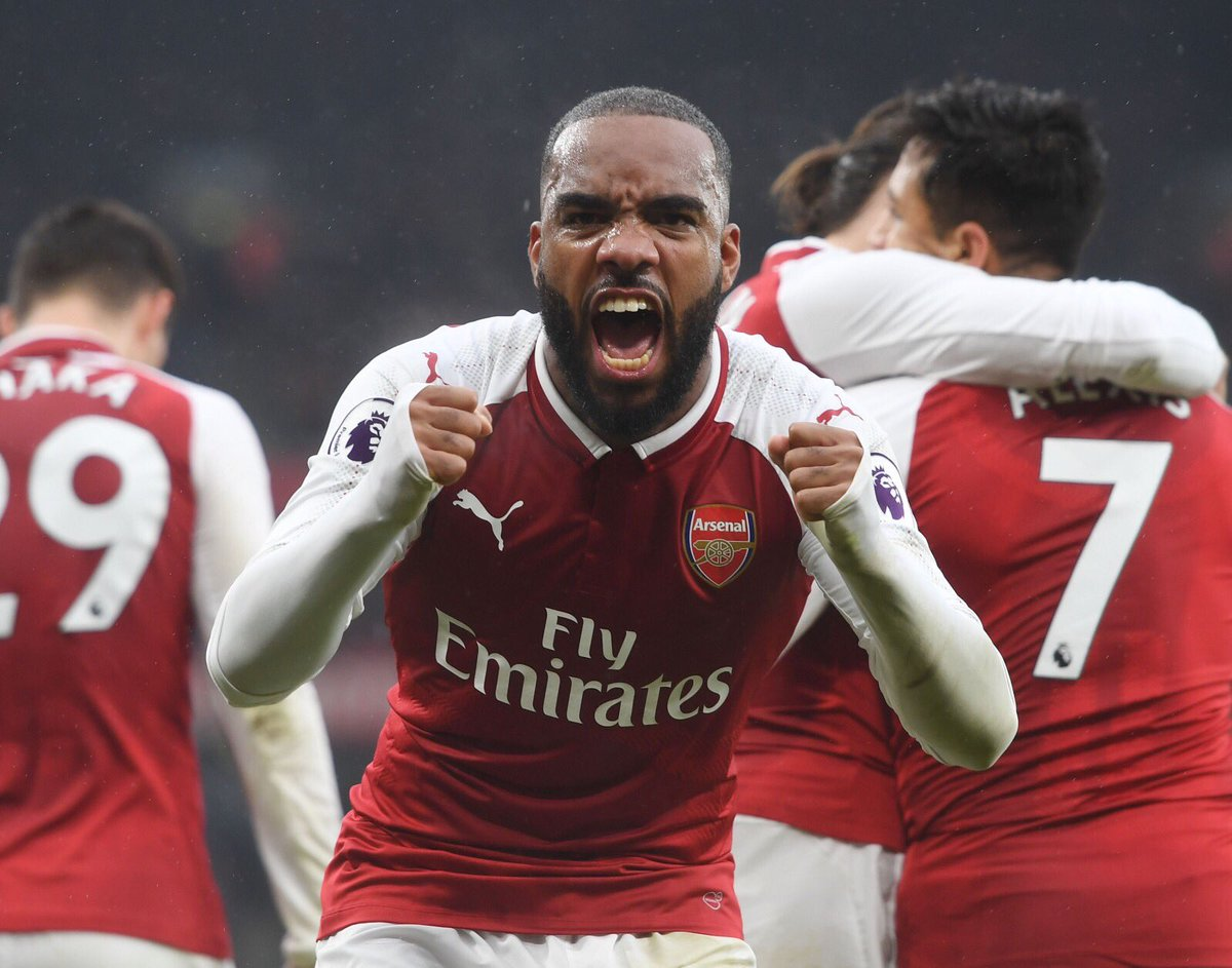 "Alexandre Lacazette on Twitter ""North London is RED 🔴 s t"