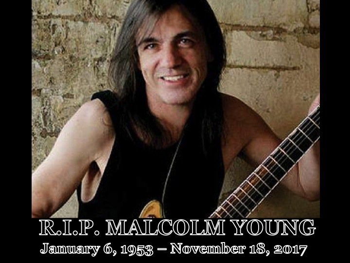 RT @WORLDMUSICAWARD: R.I.P. Malcolm Young! ❤️🌹 https://t.co/lOS2wi3Jxi