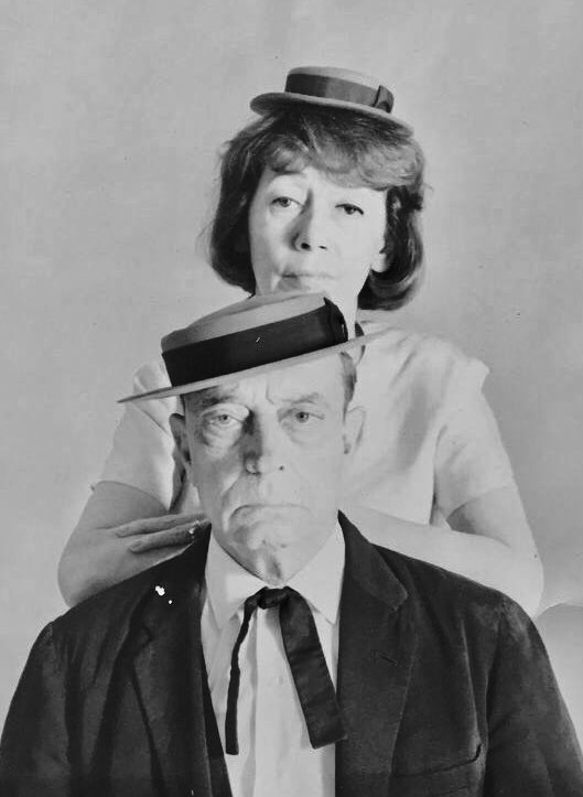 "#ImogeneCoca (born Nov 18, 1908) and Buster Keaton toured the US in the 1960 production of ""Once Upon a Mattress"". #BusterLove#botd #theatre #theater <br>http://pic.twitter.com/WriAWmllih"