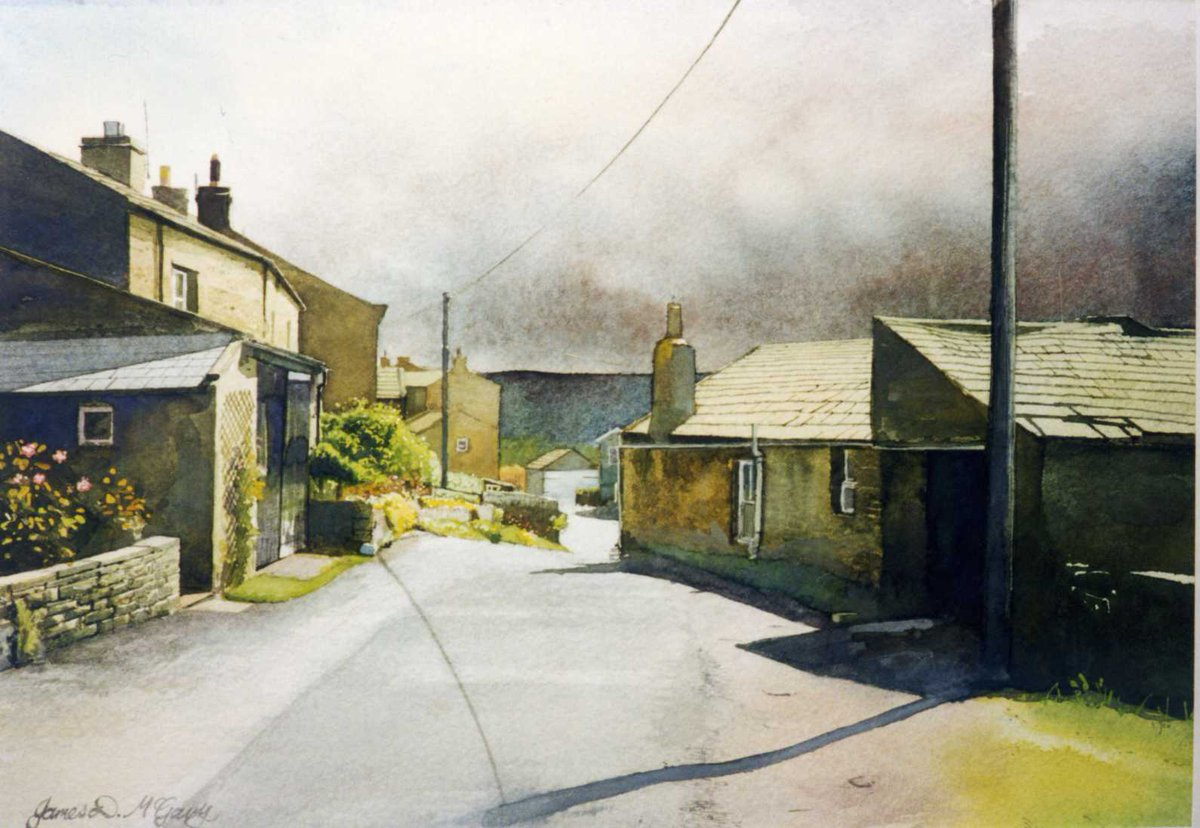 &#39;Gunnerside&#39; #paintings 4 x paintings in and around #Gunnerside #Swaledale #YorkshireDales #Yorkshire #landscape<br>http://pic.twitter.com/EJk6YLDPe6