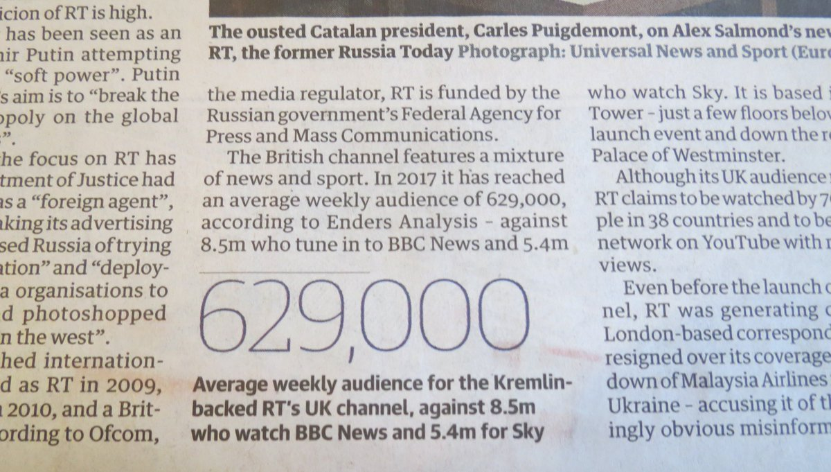 .@guardian: if so few vievers watch @RTUKnews, why all the fuss?