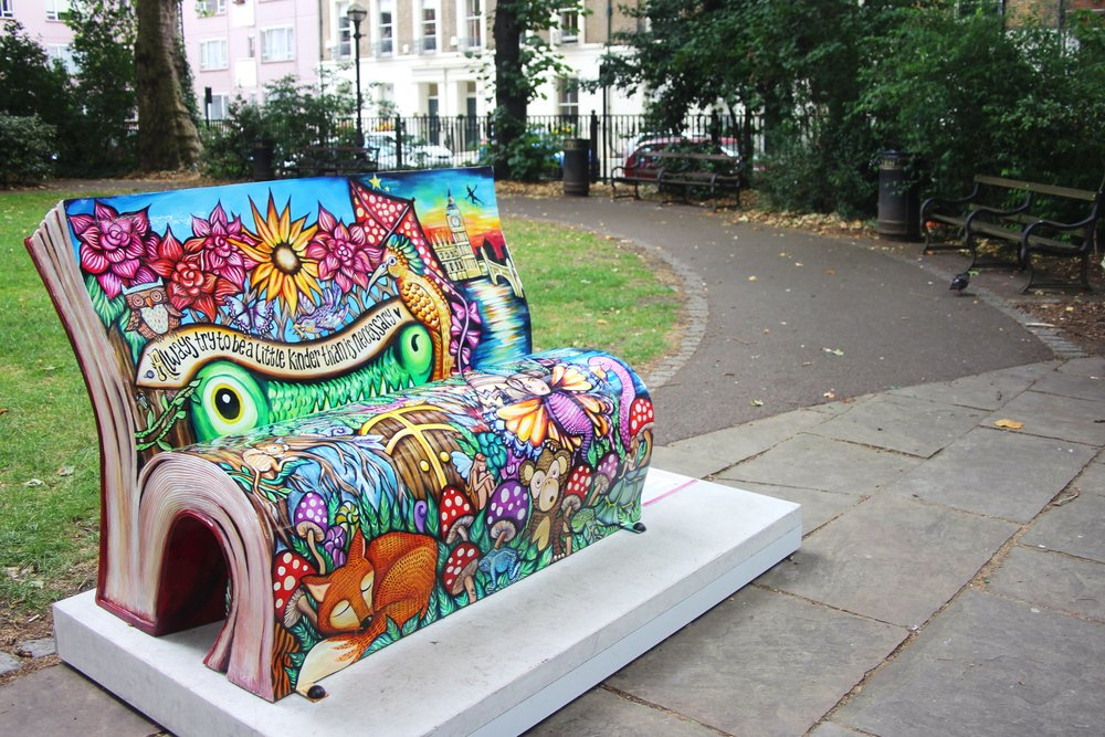 When a bookworm designs park benches...          #amwriting #amreading <br>http://pic.twitter.com/gF8Dt8iBtE