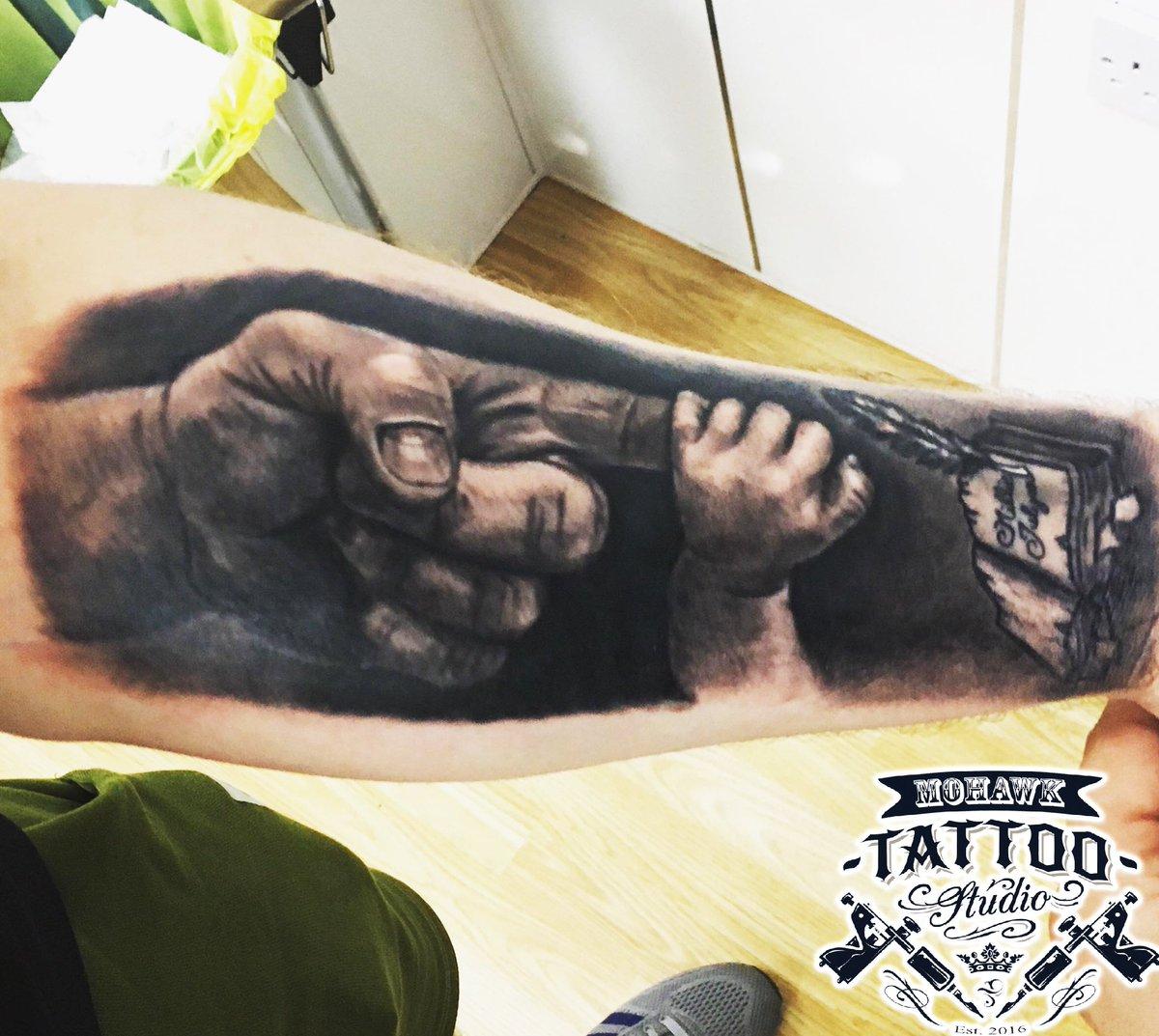 Mohawk Tattoo Studio On Twitter Amazing Idea Of Father And
