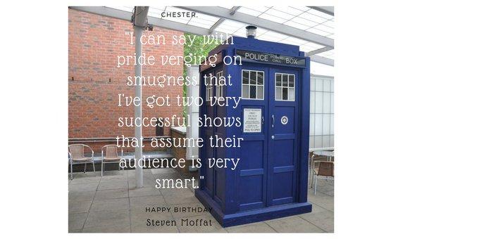 Happy Steven Moffat!