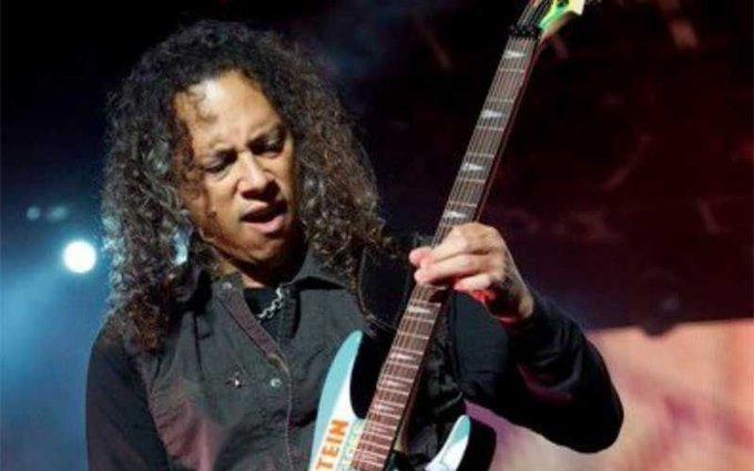 Happy 55th birthday to Kirk Hammett!