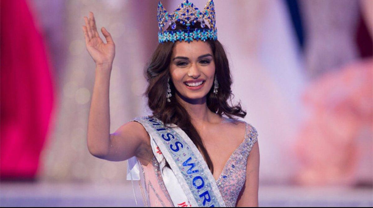 भारतीय सुन्दरी मानुषी चिलर बनिन् मिस वर्ल्ड (भिडियोसहित)