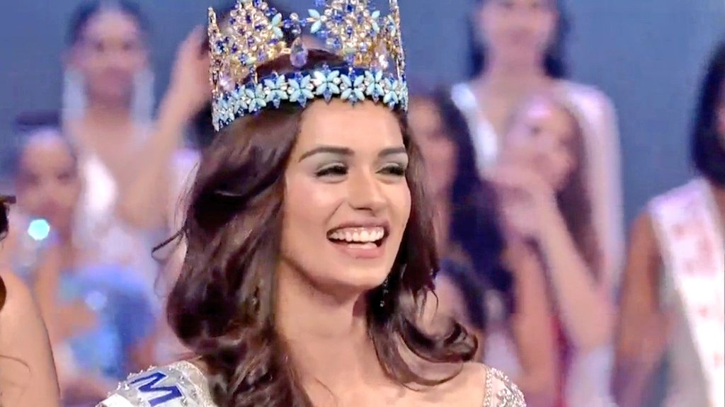 Congratulations @ManushiChhillar #MissWorld2017 on becoming Miss World 2017 and making the whole country proud. Haryana girls rocking it on world stage. Haryana Power,India Power.