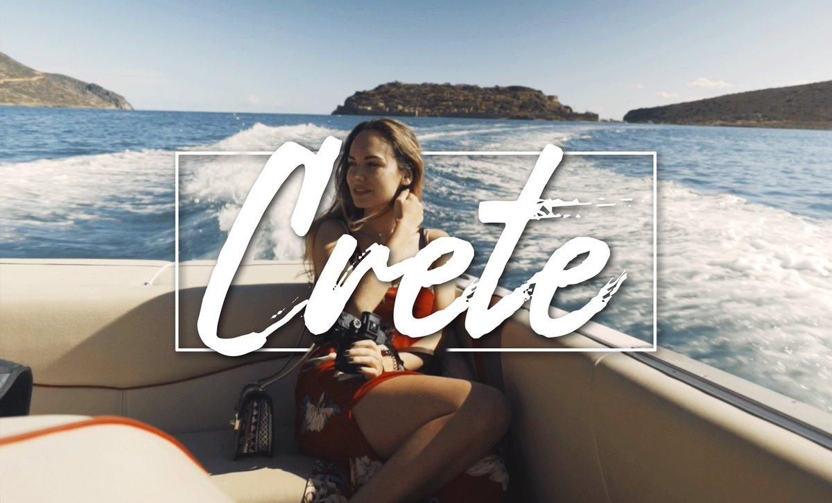 Aujourd'hui, 19 novembre à 12h, ma nouvelle vidéo sur la Crete sera disponible ! 🙏🏽
