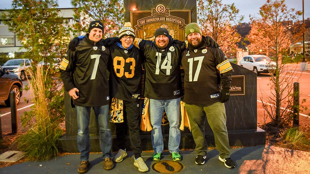 Standing in the footsteps of history. #SteelersNation #HereWeGo  <br>http://pic.twitter.com/JNtkimEd2y