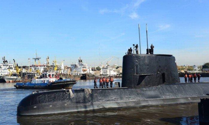 Brasil se une às buscas de submarino desaparecido na Argentina. https://t.co/lxW0AIIpO1