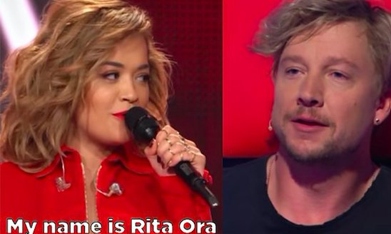 Rita Ora tried to do a prank on 'The Voice' in Germany and things got awkward fast https://t.co/ikiejlgicx