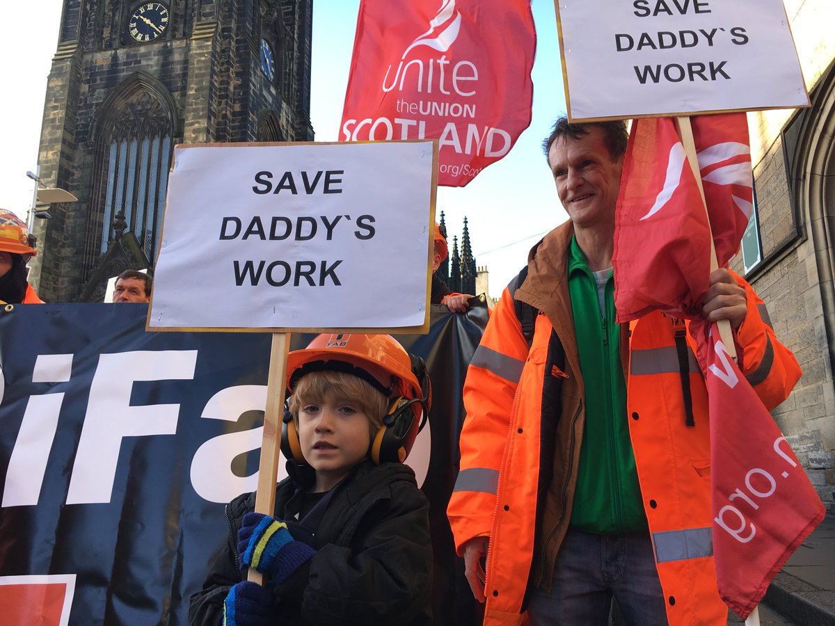 """#BREAKING news about BiFab. Unions praise Scottish Govt's """"pivotal"""" role in securing agreement. <br>http://pic.twitter.com/0UcLxS5Vum"""