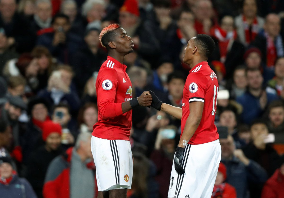 Pogback, the return of the , and a 4-1 win for @ManUtd to cap off your #PL Saturday <br>http://pic.twitter.com/VaR76Uywxs