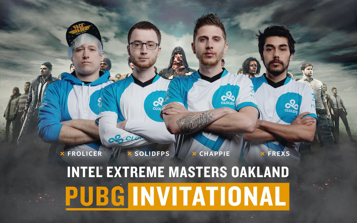 """Esl Pubg On Twitter See You In Kameshki: Intel®ExtremeMasters On Twitter: """".@Cloud9 Will Also Be"""