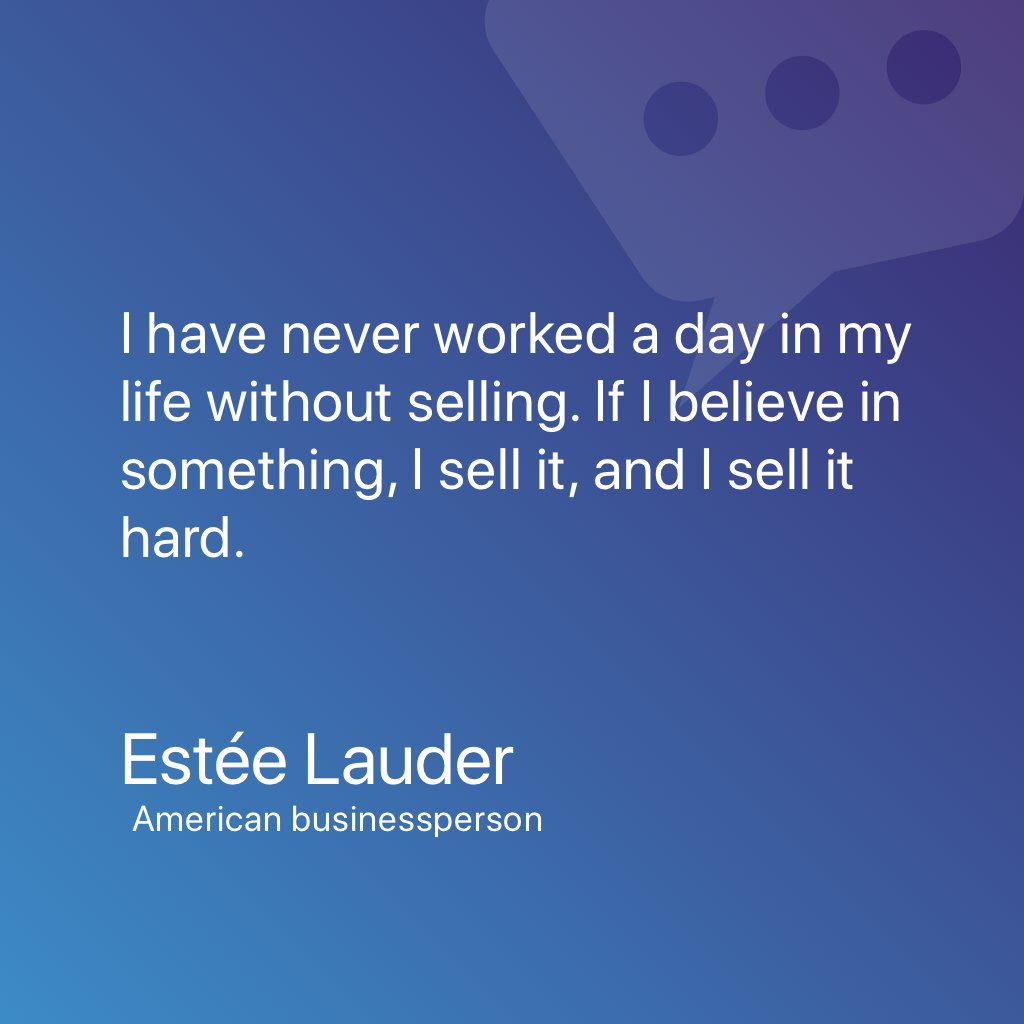 Sales Quote Of The Day Nice.chat Thenicestchat  Twitter