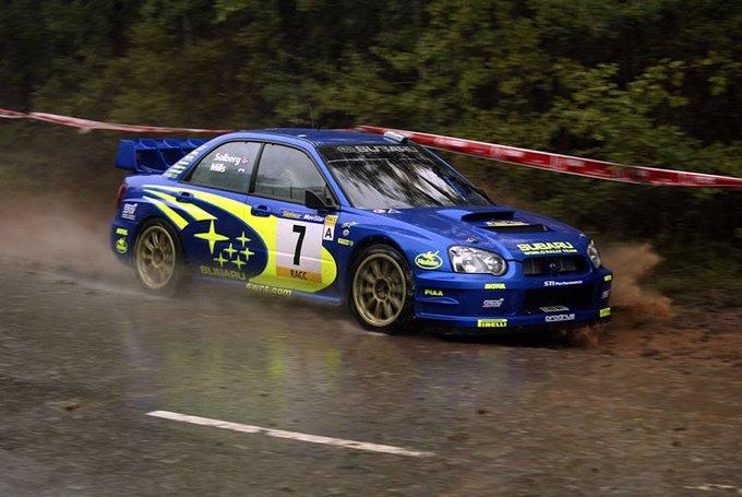 Happy Birthday to the 2003 World Rally Champion Petter Solberg!!  Subaru\s last World Rally Champion