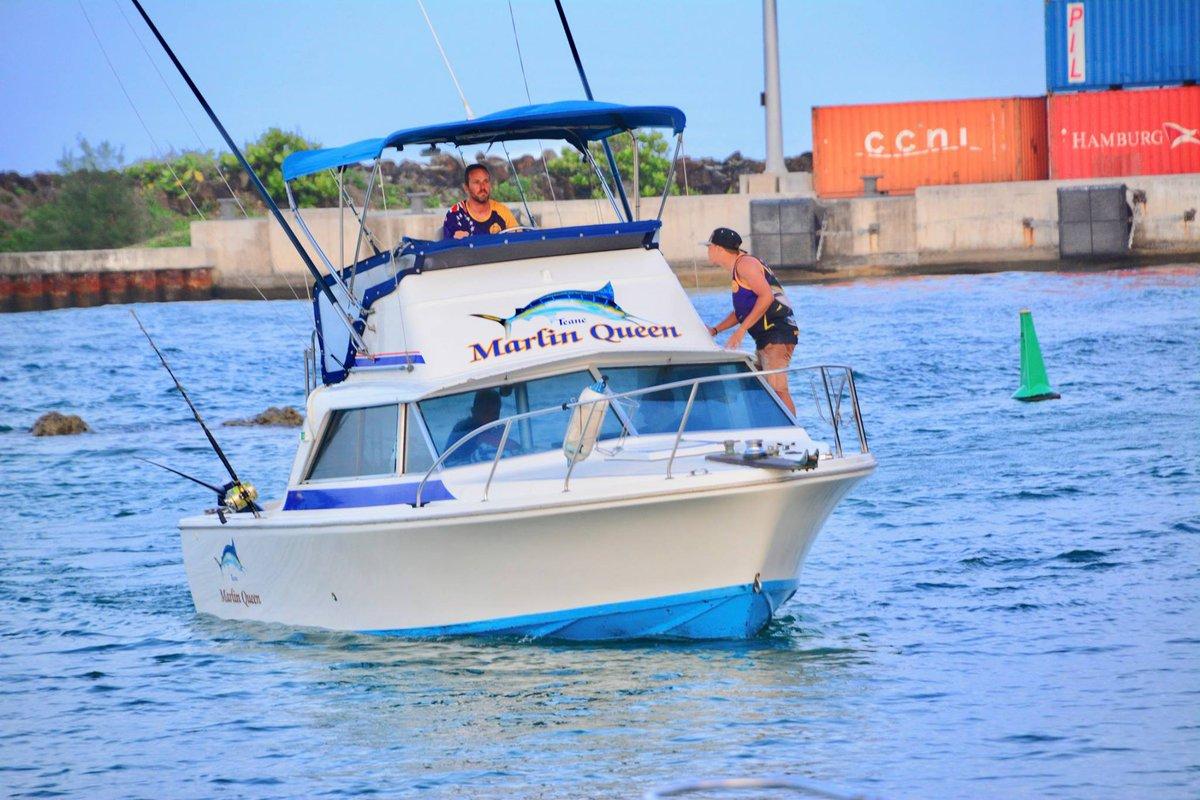 Cook Islands - Marlin Queen weighed a 675 lbs. Blue Marlin.