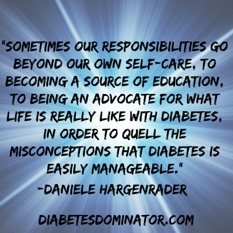 Sometimes our responsibilities go beyond our own self-care,  to become a …  #Diabetes #DOC<br>http://pic.twitter.com/oL4Ji9zfWb