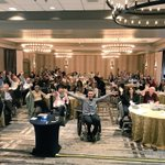 """Honored to share my story at the @ALDConnect annual meeting. """"Adrenoleukodystrophy, or ALD, is a deadly genetic disease that affects 1 in 18,000 people."""" Such a strong community moving forward together."""