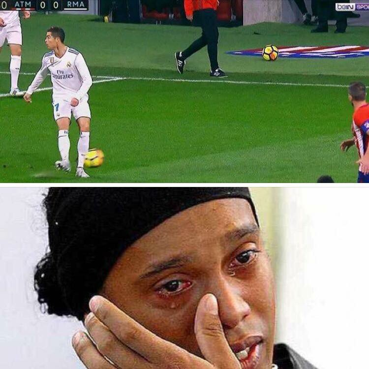 Ronaldo at it again #AtletiReal #ATLRMA <br>http://pic.twitter.com/Y9ELfHApr4