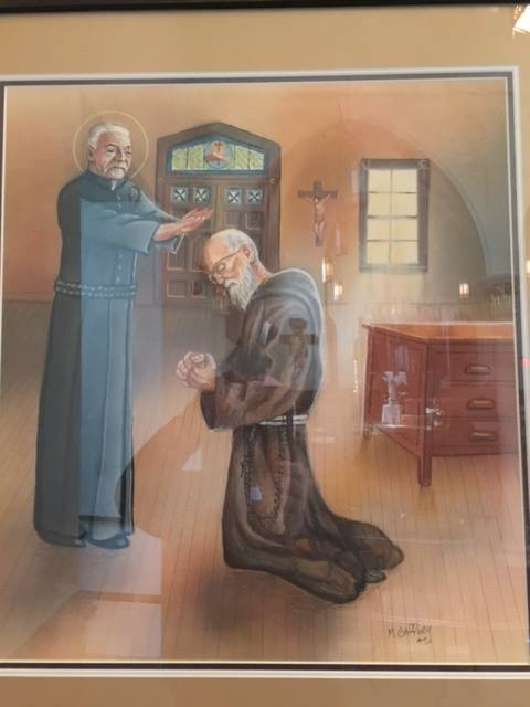 #Blessed Solanus Casey and #Saint Brother Andre Bessette, C.S.C. shared a humble obedience as doorman. <br>http://pic.twitter.com/HTe8gHoFN1