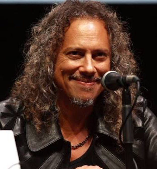 Happy birthday Kirk Hammett!!!!!! Have an amazing day. We all love you.