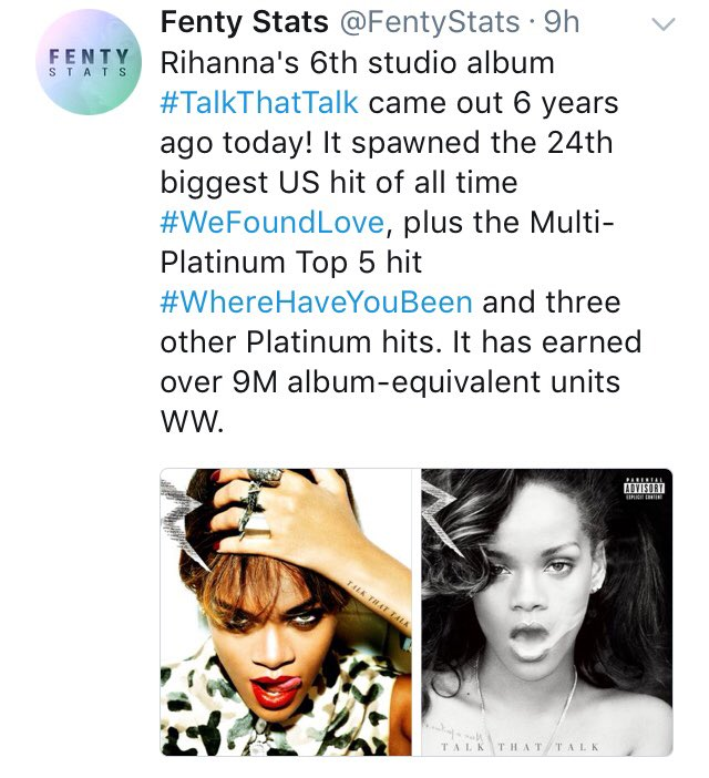 Happy 6th Bday To Rihanna's Talk That Talk Album! | Lipstick Alley