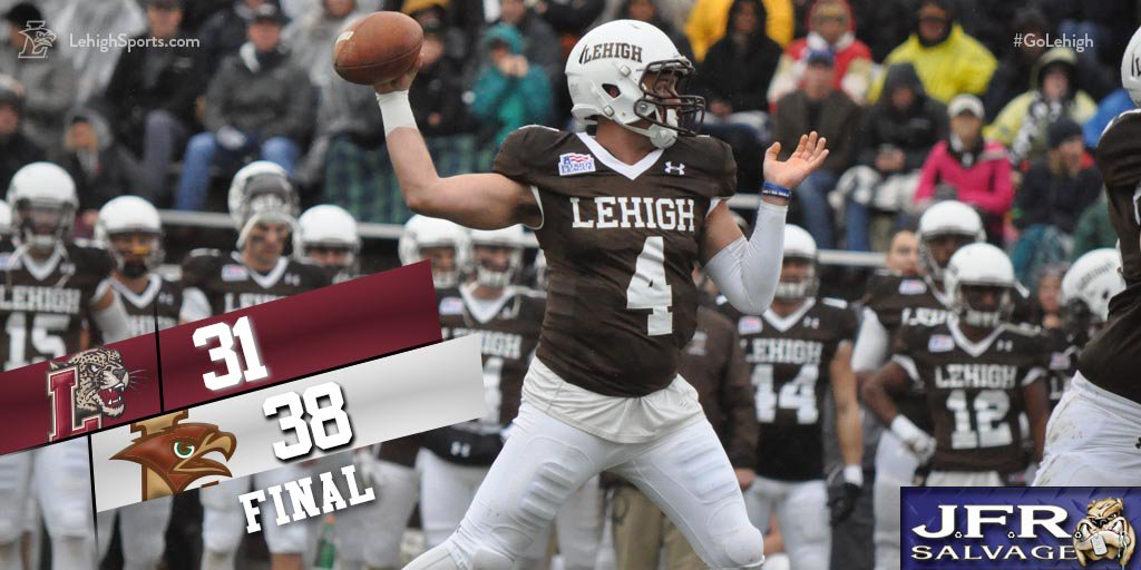 QUICK RECAP: Lehigh Rallies from 24-14 Deficit, Ends Up Patriot League Co-Champs With Thrilling 38-31 Win over Rivals