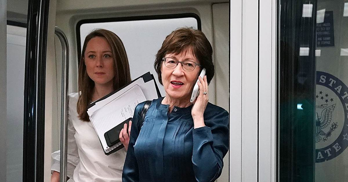 New ad encourages Maine Sen. Susan Collins to vote 'no' on tax bill: https://t.co/DqrXagEVD6