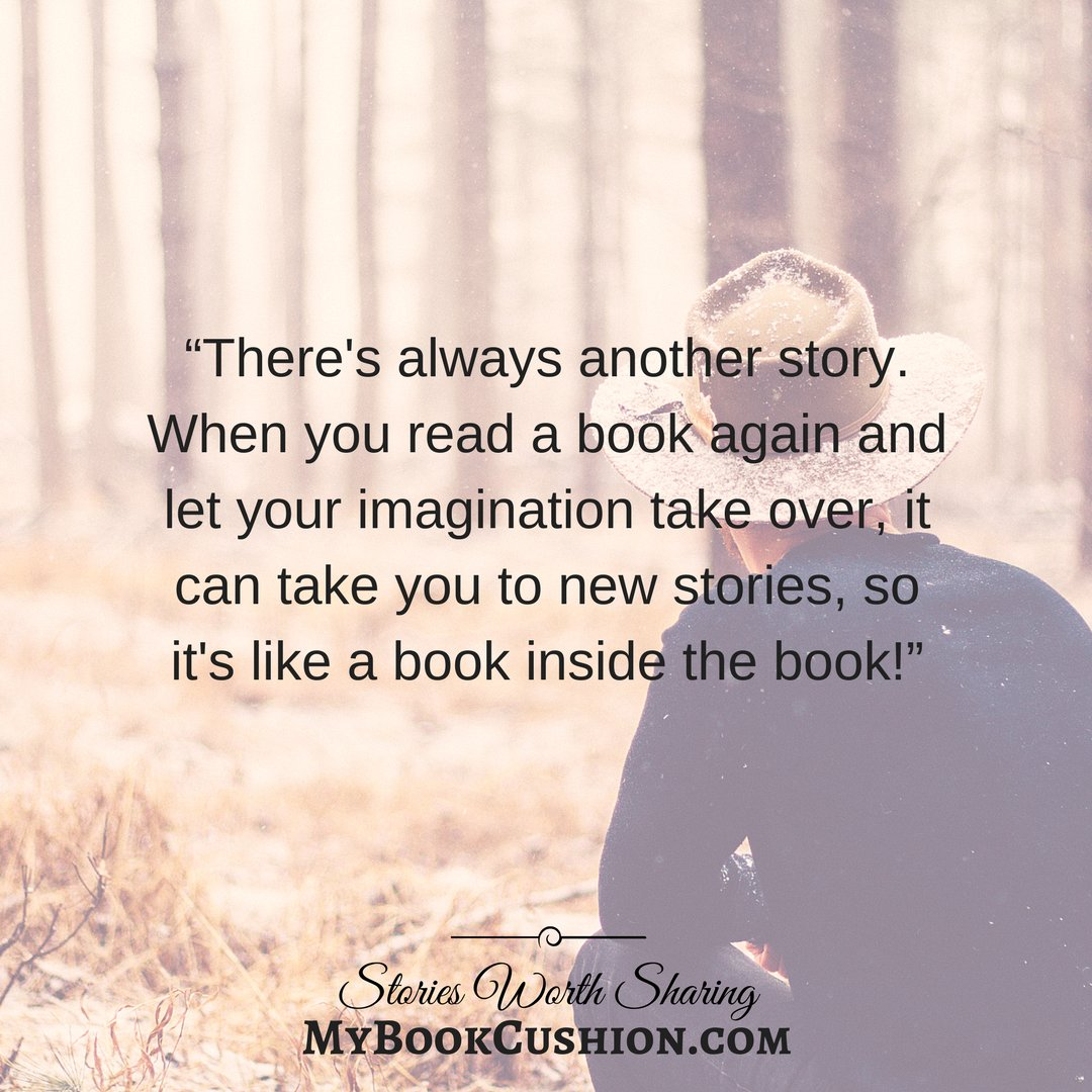 There&#39;s always another story...  #amreading #amwriting #reading  Like us on FB!  http:// fb.com/mybookcushion  &nbsp;   <br>http://pic.twitter.com/2lG5OcVmAO