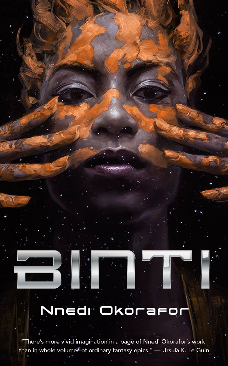 #AmReading Binti by @Nnedi and then will probably just follow it up straight away with the sequel Home... and then maybe make it a trifecta by starting #AkataWitch<br>http://pic.twitter.com/3Vg0gK7m1u