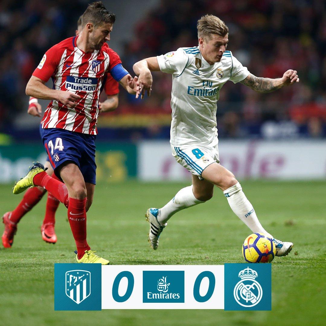 🏁 FP: Atlético de Madrid 0-0 Real Madrid...