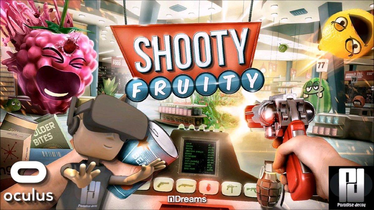 Watch &quot;WHEN FRUIT ATTACK! - SHOOTY FRUITY #VR | Oculus Rift + Touch | GTX 1060 (6GB)&quot; on YouTube  https:// buff.ly/2zddfIk  &nbsp;  <br>http://pic.twitter.com/yQ9jXMI3Qm
