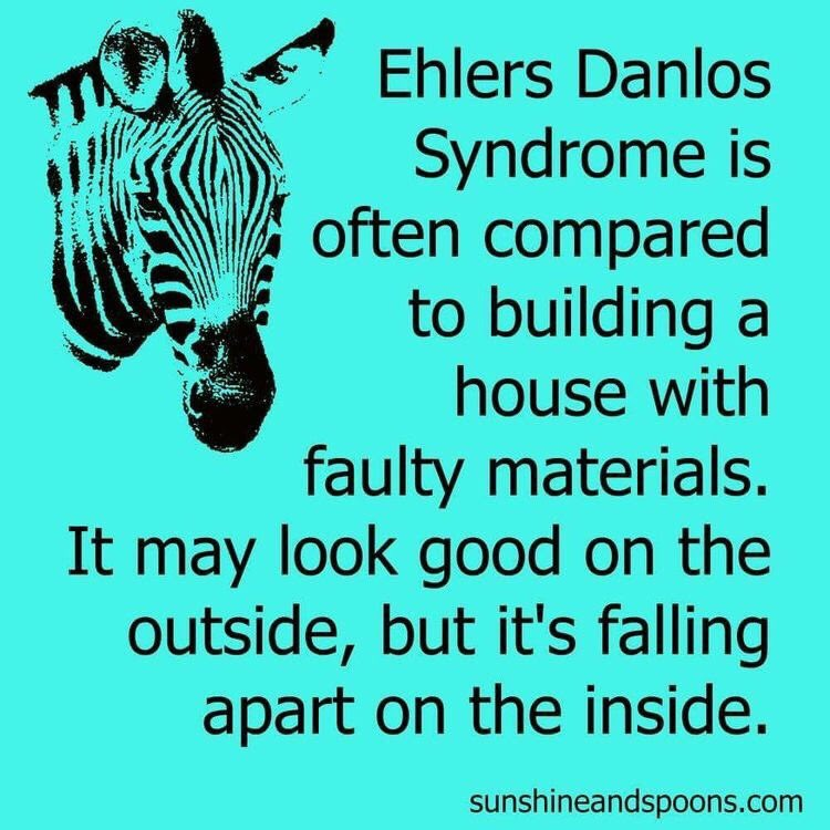 That's why I donate some of my proceeds to #EhlersDanlosSociety! Let's raise awareness!  #EhlersDanlosSyndrome #EDS #ehlersdanlos #zebra #awareness #chronicillness #invisibleillness #chronicpain #spoonie #spoonielife #invisibleillnessawareness #butyoudontlooksick<br>http://pic.twitter.com/o4CaWwiWkm