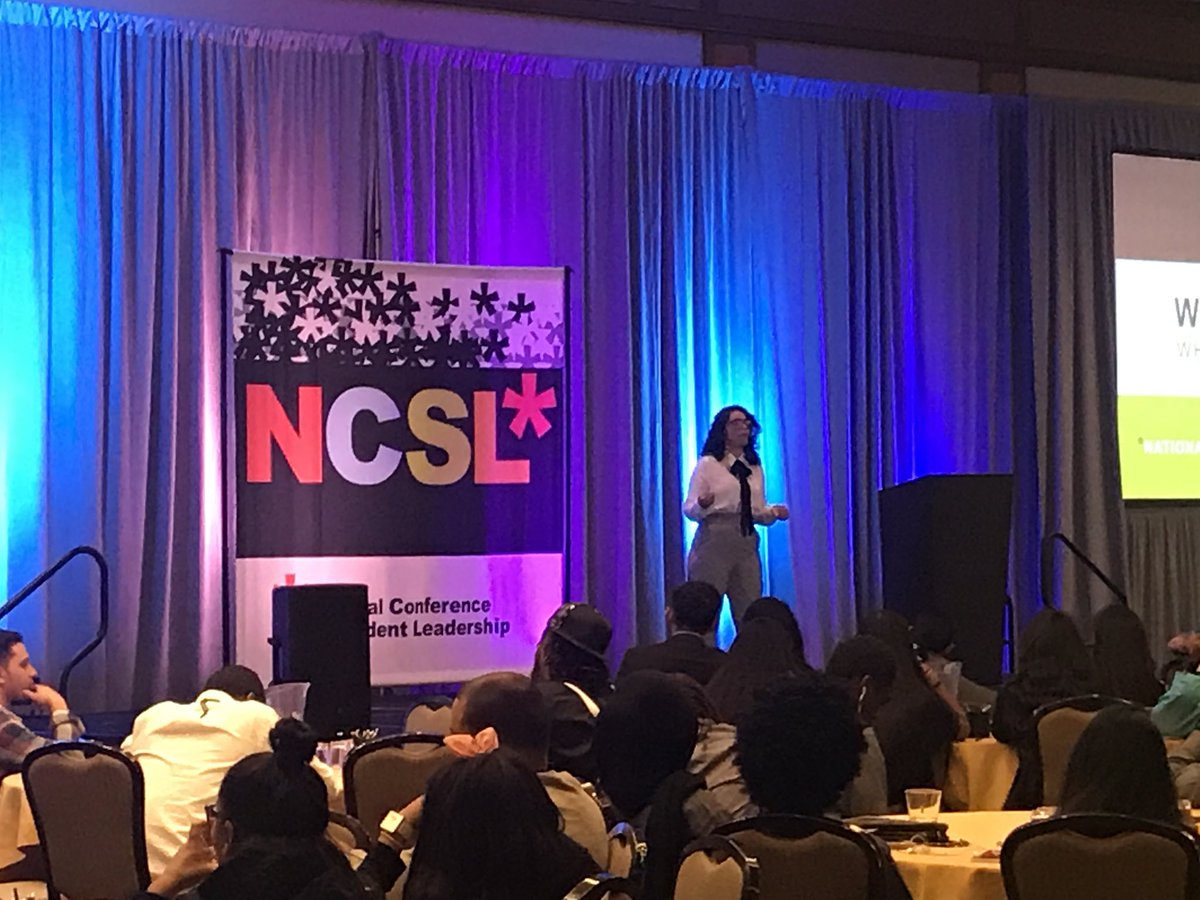 Vielka is the third and final student leader to take the stage for NCSL Speaks! #NCSL17 #WhereLeadersAreMade <br>http://pic.twitter.com/tQAbLqoC8P