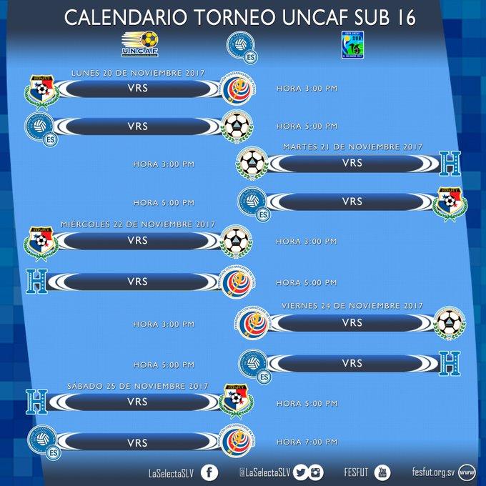 Sub-16: Campeonato Centroamericano - El Salvador 2017. DO8la_XWsAAC04m