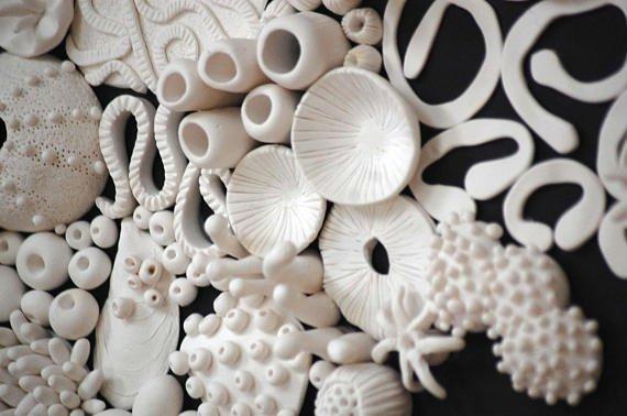 Coral Reef Wall Sculpture Large 3D Coral Wall Installation  http:// dld.bz/gtxa7  &nbsp;   #coralreef #ocean #beachhouse #interiordesign #homedecor #installation #etsy<br>http://pic.twitter.com/KpntvJST4Q