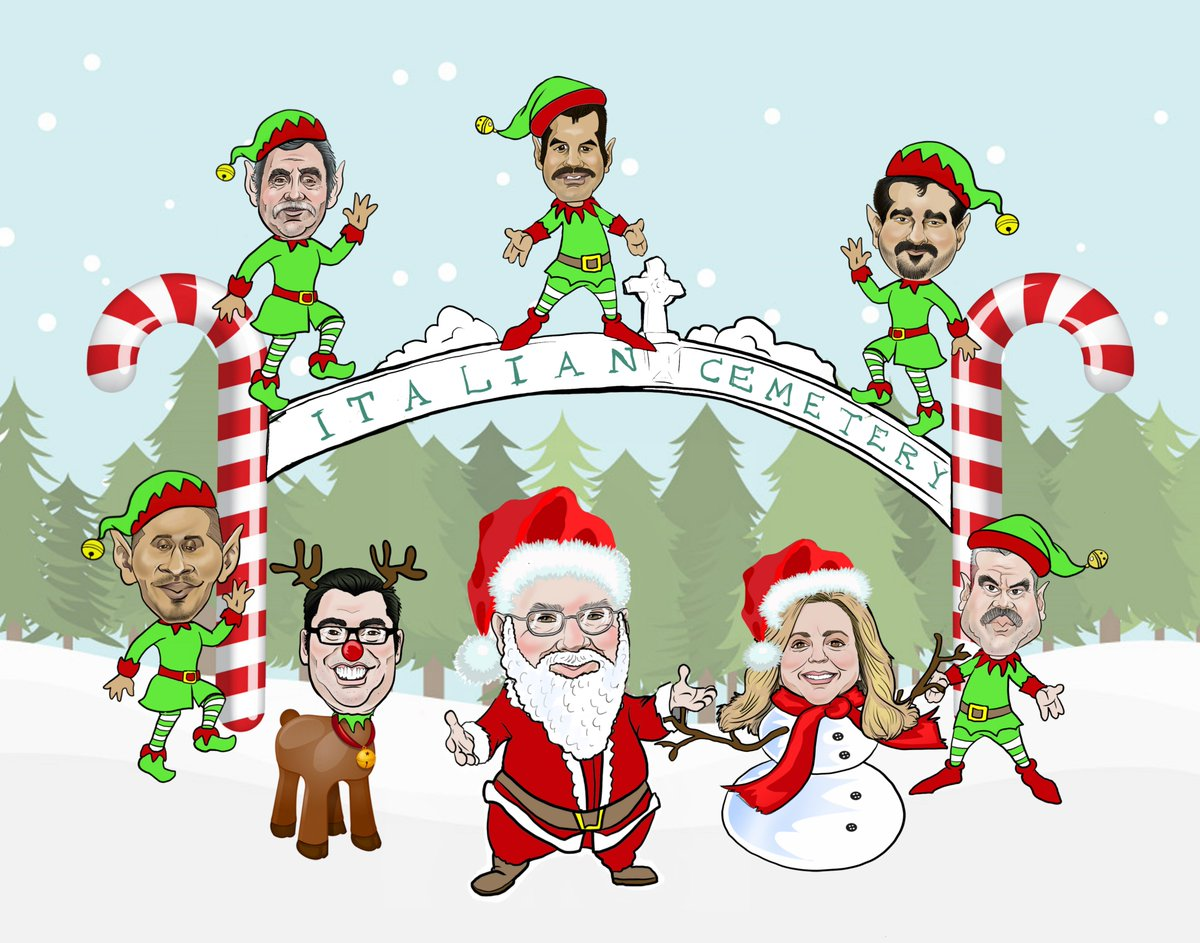 """Greg Vanoy on Twitter: """"I will draw a caricature Christmas card for you! Check out my gig... https://t.co/6q5I7tjZOA… """""""