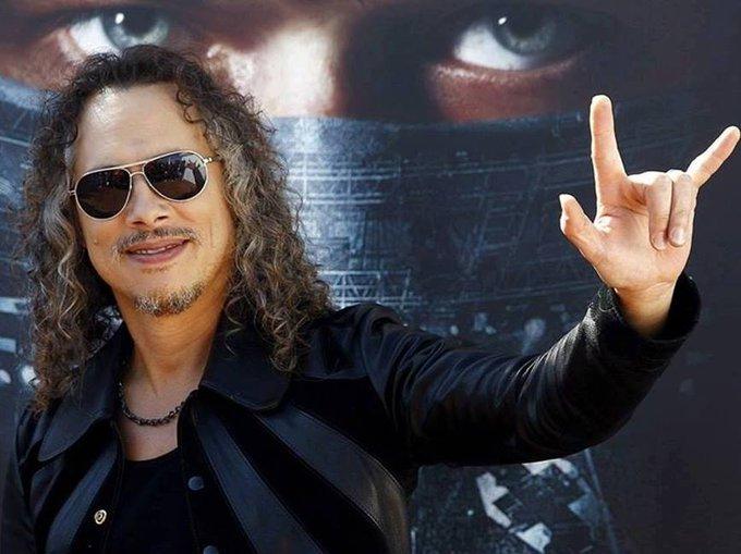 Happy Birthday,Kirk Hammett!