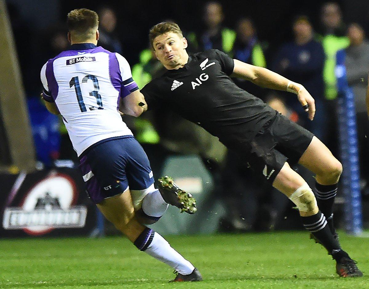 Rugby - L'Ecosse malmène la Nouvelle-Zélande mais s'incline https://t.co/C5cMwP8kCu