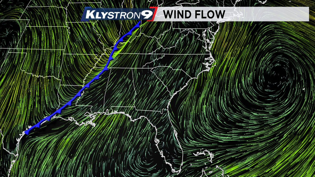 Cold front will move through #FL Sunday...