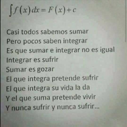 Cuando aparte de ser profe de matemática...
