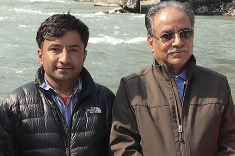 Image result for Prachanda's only son death