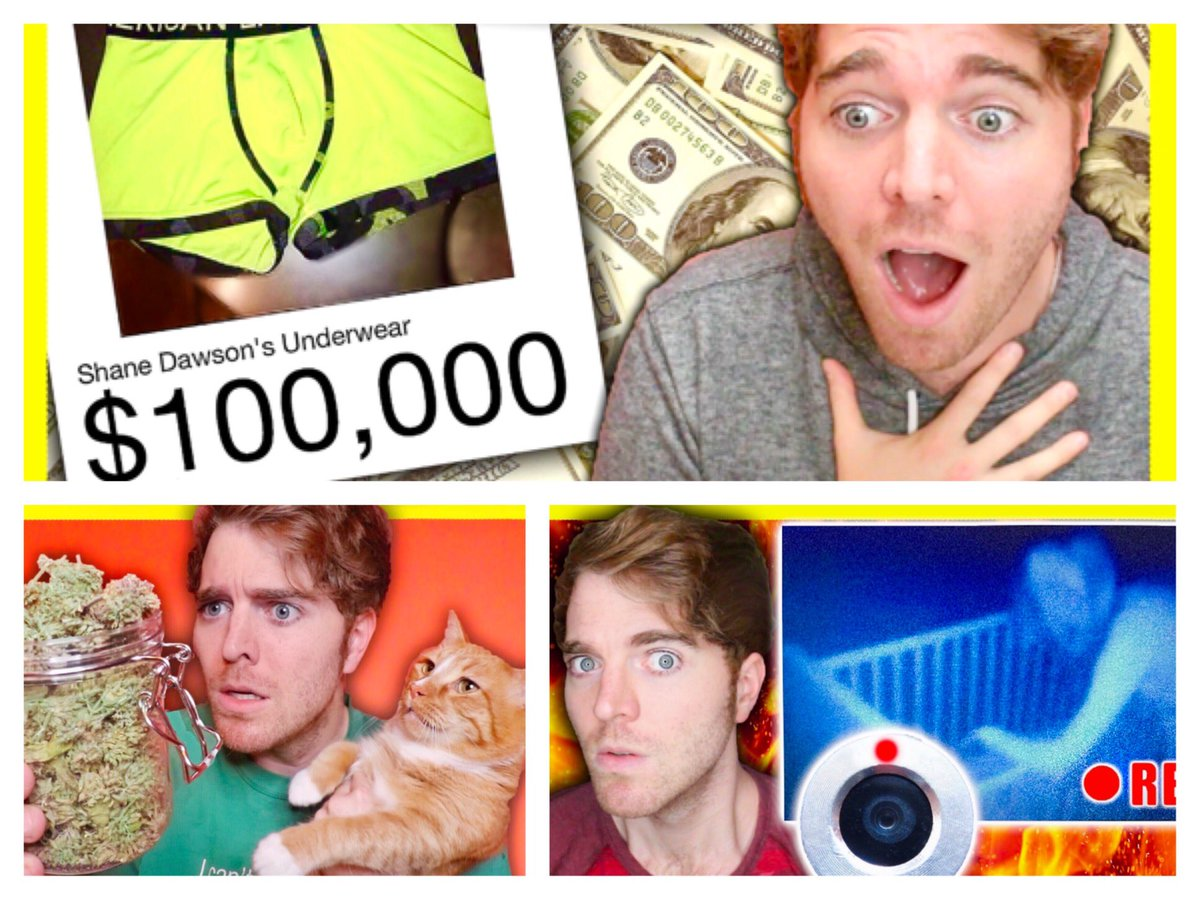 RT @shanedawson: New Videos Starting Monday! https://t.co/ONjqlSUGRI 👙💰🐱💀 https://t.co/n5xVUM9u9U