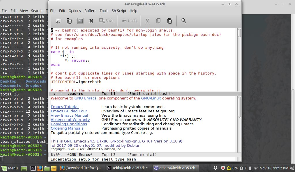 Knee deep in bash adding some aliases #linuxmint #Linux <br>http://pic.twitter.com/DWgob4ynf2