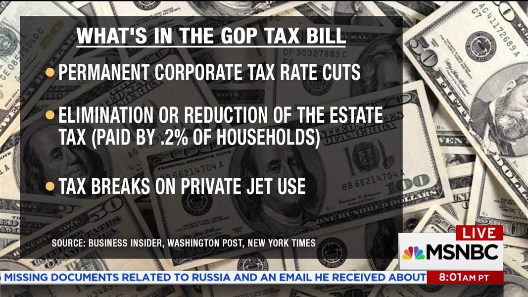 GOP tax plan: Nearly half of benefits go to top 1 percent: https://t.co/0Ten2JNBzO