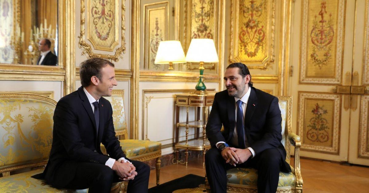 Depuis l'Elysée, Saad Hariri assure qu'il sera à Beyrouth d'ici mercredi https://t.co/9oLoXas4qR