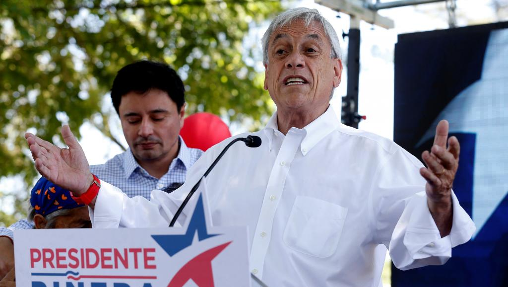 Premier tour de la présidentielle au Chili, Pinera favori https://t.co/9RuAEMYGsb