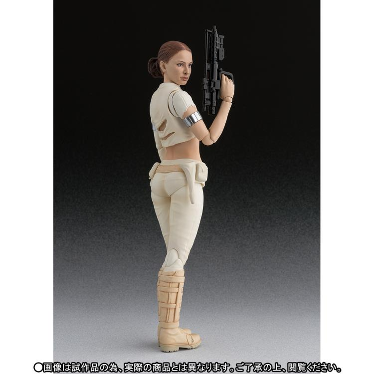 BACK IN STOCK! #SHFiguarts Padme Amidala 6 inch figure!  http:// bit.ly/2zR0hwJ  &nbsp;   #starwars #attackoftheclones #Bandai #natalieportman #episode2<br>http://pic.twitter.com/HfHdeEwQFo