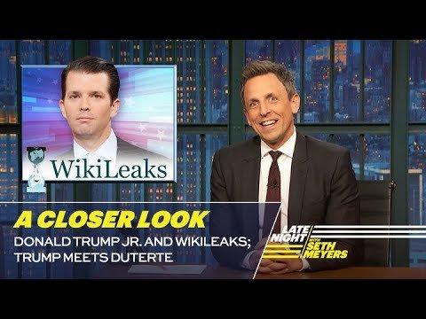 #Donald #Trump Jr. and WikiLeaks; #Trump Meets Duterte: A Closer #Look  http:// sharewww.com/JGWG0    pic.twitter.com/oLXsrbrv44